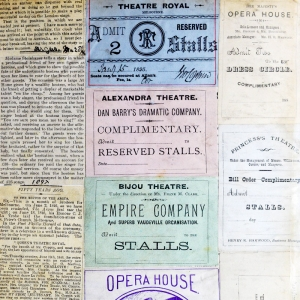The John Riley/Fred Hailes Scrapbook: Music and Drama
