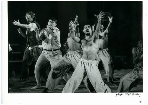 Bran Nue Dae 1993 at Melbourne Theatre Company by Jimmy Chi and Kuckles Directed by Andrew Ross photo by Jeff Busby