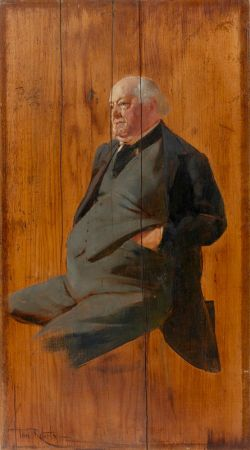 Portrait Of George Selth Coppin C. 1895 99 By Tom Roberts NPG